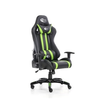 Save £13 at Scan on Neo Media Racing Gaming Chair Black/Green with Arm Rests