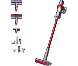 Save £100 at Currys on DYSON Cyclone V10 Total Clean Cordless Vacuum Cleaner - Red