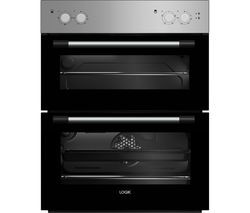 Save £30 at Currys on LOGIK LBUDOX18 Electric Built-under Double Oven - Silver