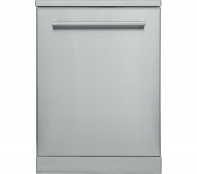 Save £50 at Currys on KENWOOD KDW60X18 Full-size Dishwasher - Dark Silver, Stainless Steel