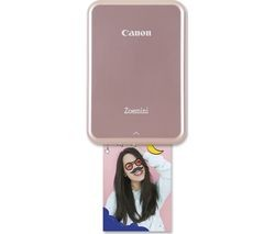 Save £10 at Currys on CANON Zoemini Mobile Photo Printer - Rose Gold