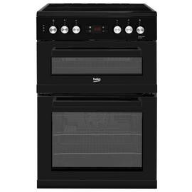 Save £50 at Argos on Beko KDC653K 60cm Double Oven Electric Cooker - Black