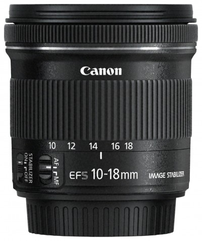 Save £40 at Argos on Canon EF-S 10-18mm f/4.5-5.6 IS STM Lens