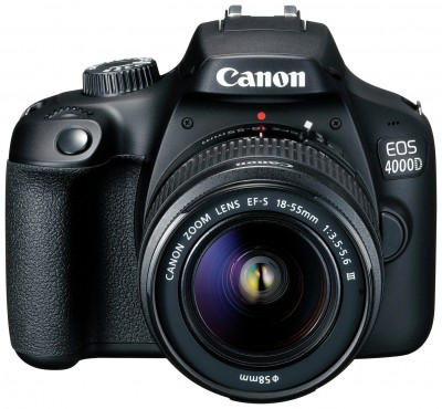 Save £50 at Argos on Canon EOS 4000D DSLR Camera Body with 18-55mm Lens
