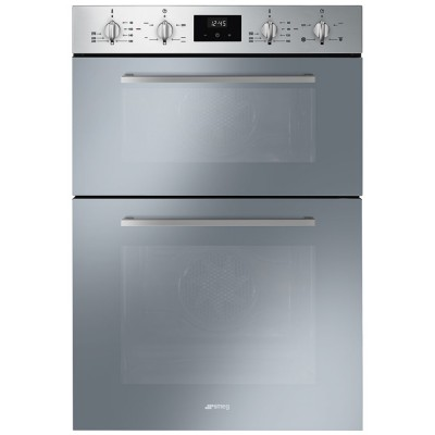 Save £169 at Appliance City on Smeg DOSF400S Built In Cucina Double Oven - STAINLESS STEEL
