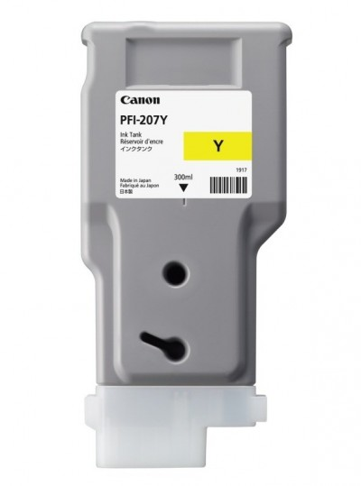 Save £20 at Ebuyer on Canon PFI-207Y Yellow Ink Tank 300ml