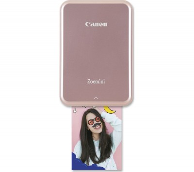 Save £10 at Currys on CANON Zoemini Mobile Photo Printer - Rose Gold, Gold