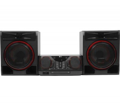 Save £60 at Currys on LG CK56 XBOOM Bluetooth Megasound Party Hi-Fi System - Black, Black