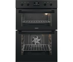 Save £50 at Currys on ZANUSSI ZOD35802BK Electric Double Oven - Black