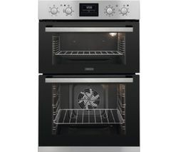 Save £70 at Currys on ZANUSSI ZOD35802XK Electric Double Oven - Stainless Steel