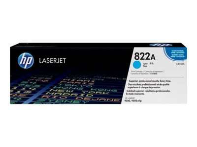 Save £133 at Ebuyer on HP 822A Cyan Toner Cartridge 25,000 Pages - C8551A