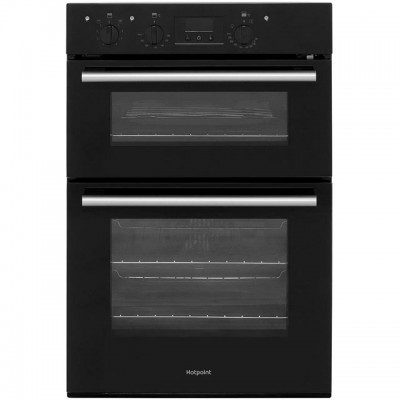 Save £51 at AO on Hotpoint Class 2 DD2540BL Built In Double Oven - Black - A/A Rated