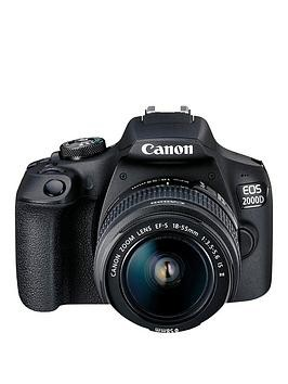 Save £70 at Very on Canon Eos 2000D Slr Camera With Ef-S 18-55Mm Is Ii Lens Kit