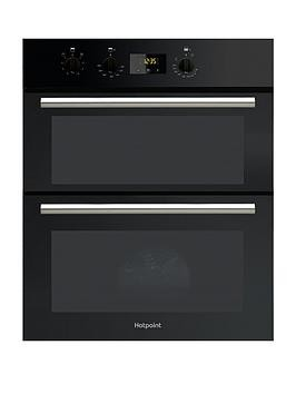 Save £40 at Very on Hotpoint Class 2 Du2540Bl 60Cm Electric Built-Under Double Oven - Oven With Installation