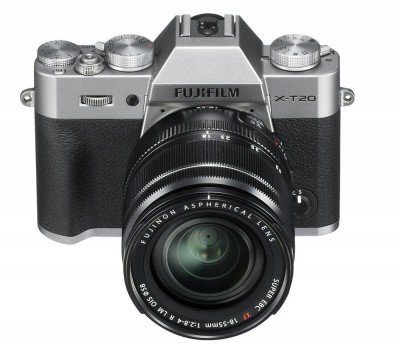 Save £250 at Currys on FUJIFILM X-T20 Mirrorless Camera with 18-55 mm f/2.8-4 Lens - Silver, Silver