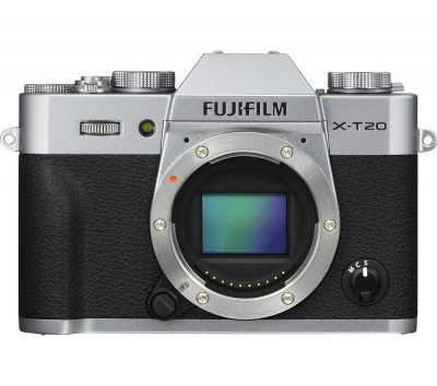 Save £210 at Currys on FUJIFILM X-T20 Compact System Camera - Silver, Body Only, Silver