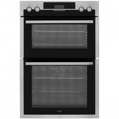 Save £80 at AO on AEG DES431010M Built In Double Oven - Stainless Steel - A/A Rated