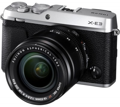 Save £200 at Currys on FUJIFILM X-E3 Mirrorless Camera with XF 18-55 mm f/2.8-4 Lens - Silver, Silver