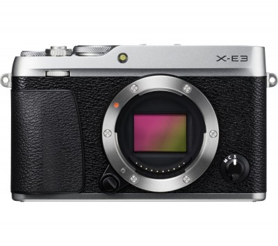 Save £180 at Currys on FUJIFILM X-E3 Mirrorless Camera - Silver, Body Only, Silver
