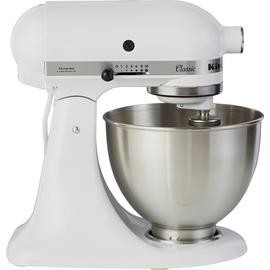 Save £105 at Argos on KitchenAid 5K45SSBWH Classic Stand Mixer - White