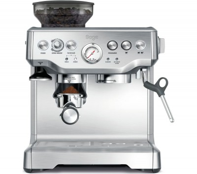 Save £50 at Currys on SAGE Barista Express BES875UK Bean to Cup Coffee Machine - Silver, Silver