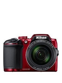 Save £55 at Very on Nikon Coolpix B500 Camera - Red