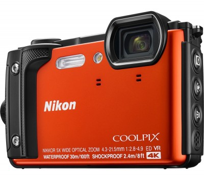 Save £50 at Currys on NIKON COOLPIX W300 Tough Compact Camera - Orange, Orange