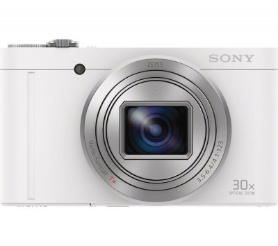 Save £30 at Currys on SONY Cyber-shot Cyber-shot DSC-WX500W Superzoom Compact Camera - White, White