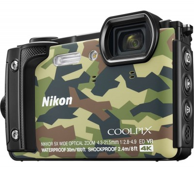 Save £50 at Currys on NIKON COOLPIX W300 Tough Compact Camera - Camo