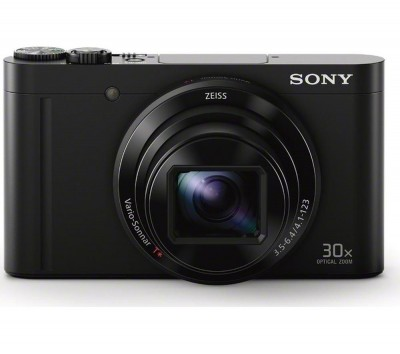 Save £30 at Currys on SONY Cyber-shot DSC-WX500B Superzoom Compact Camera - Black, Black