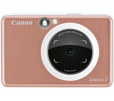 Save £39 at Currys on Canon Zoemini S Instant Camera - Rose Gold, Gold