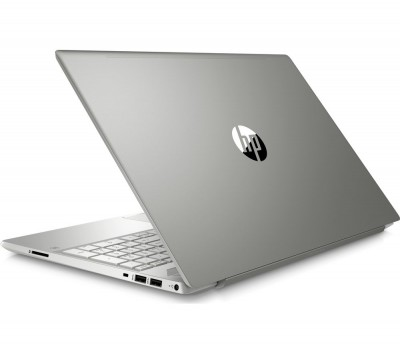 "Save £100 at Currys on HP Pavilion 15-cs0994na 15.6"" Intel® Pentium Gold Laptop - 128 GB SSD, Silver, Gold"