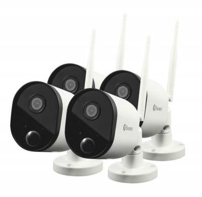 Save £131 at Ebuyer on Swann Wire-Free 1080p Full HD Outdoor Security Camera - 4 Pack
