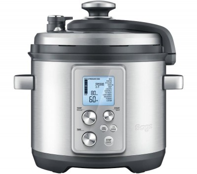 Save £104 at Currys on SAGE by Heston Blumenthal Fast Slow Pro Pressure/Slow Cooker - Stainless Steel, Stainless Steel