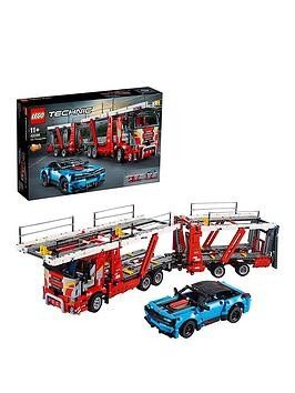 Save £31 at Very on Lego Technic 42098 Car Transporter 2 In 1 Truck And Show Cars Model