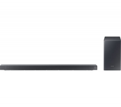 Save £50 at Currys on SAMSUNG Harman/Kardon HW-Q60RS 5.1 Wireless Sound Bar - Silver, Silver