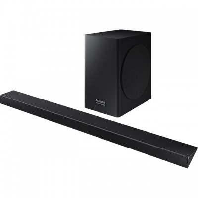 Save £53 at AO on Samsung HW-Q60R/XU Bluetooth Soundbar with Wireless Subwoofer - Charcoal Black