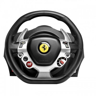 Save £100 at AO on Thrustmaster TX Ferrari F458 Italia Edition Steering Wheel & Pedals - Black