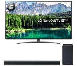 "Save £9201 at Currys on LG 55SM8600PLA 55"" Smart 4K Ultra HD LED TV & SK8 2.1 Wireless Soundbar Bundle"