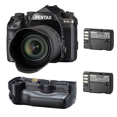 Save £200 at Wex on Used Pentax K-1 Mark II Digital SLR Camera with 28-105mm lens + D-BG6 Battery Grip + 1 Extra