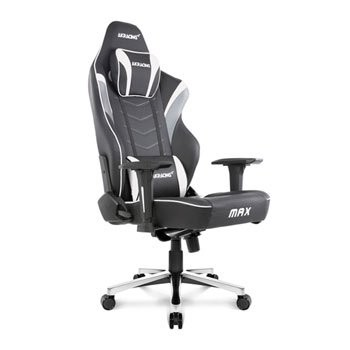 Save £100 at Scan on AKRacing Masters Series MAX BLK/WHITE Gaming Chair
