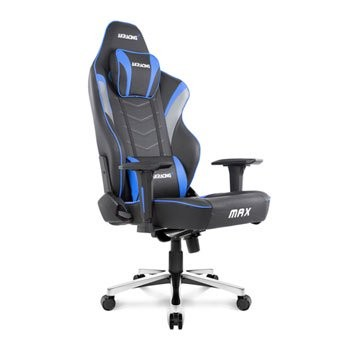 Save £100 at Scan on AKRacing Masters Series MAX BLK/BLUE Gaming Chair