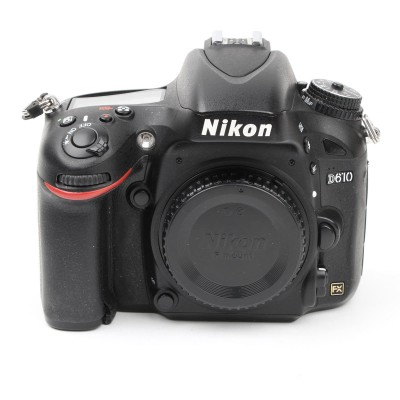 Save £50 at Wex on Used Nikon D610 Digital SLR Camera Body