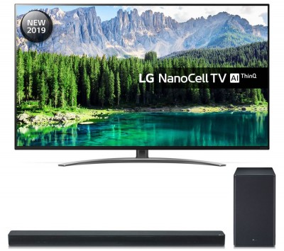 "Save £9201 at Currys on 55"" LG 55SM8600PLA Smart 4K Ultra HD LED TV & SK8 2.1 Wireless Soundbar Bundle"