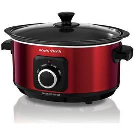 Save £11 at Argos on Morphy Richards Evoke 3.5L Sear and Stew Slow Cooker - Red
