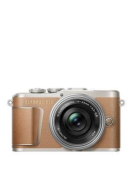 Save £75 at Very on Olympus Pen E-Pl9 Compact System Camera With 14-42 Ez Lens - Brown