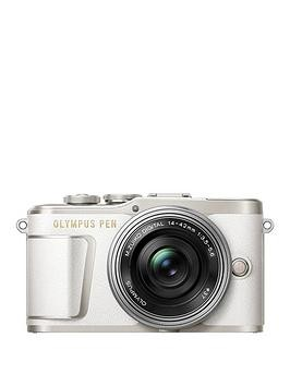 Save £125 at Very on Olympus Pen E-Pl9 Compact System Camera With 14-42 Ez Lens - White