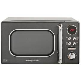 Save £20 at Argos on Morphy Richards Evoke Black Microwave 20L Solo 800w 511500