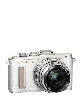 Save £60 at Very on Olympus Pen E-Pl8 Camera White Ed 14-42Mm M.Zuiko Ez Pancake Lens Kit