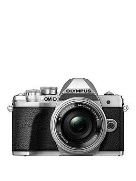 Save £100 at Very on Olympus Om-D E-M10 Mk Iii Silver Camera 14-42Mm Ez Pancake + 40-150Mm R Lens